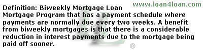 biweekly mortgage loan