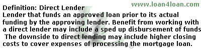 Mortgage broker vs direct lender