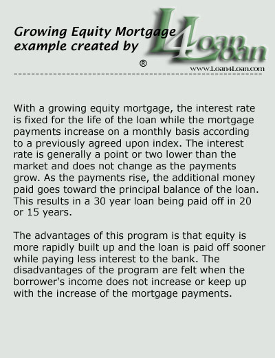 growing equity mortgage