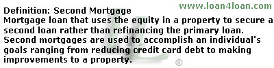 second mortgage loan
